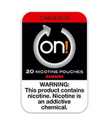ON Nicotine Pouches Cinnamon 8mg 5ct