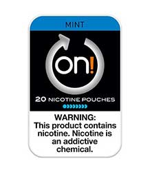 ON Nicotine Pouches Mint 8mg 5ct
