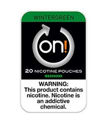 ON Nicotine Pouches Wintergreen 8mg 5ct