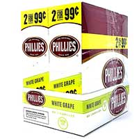 Phillies Cigarillos White Grape 30ct