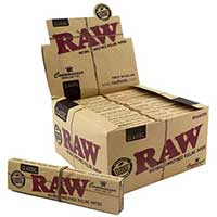 RAW Connoisseur King Slim Rolling Papers 24ct Box