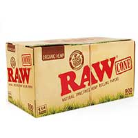 RAW Organic Hemp Cones 1.25 32ct Box