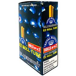 Royal Blunts EZ Roll Tube Blueberry 25ct Box