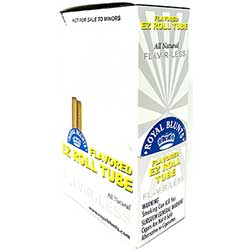 Royal Blunts EZ Roll Tube Flav R Less 25ct Box