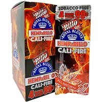Royal Blunts Hemparillo Rillo Cali Fire 15 4pks