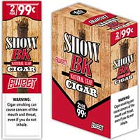 Show BK Sweet Natural Leaf Cigars 15 2pks