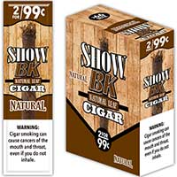 Show BK Natural Natural Leaf Cigars 15 2pks