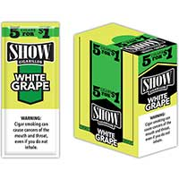 Show Cigarillos White Grape 15 5pks