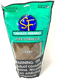 Smoker Friendly Pipe Tobacco Green 16oz