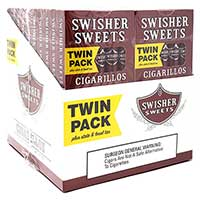 Swisher Sweets Cigarillos Twin Packs