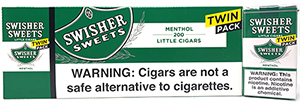 Swisher Sweets Little Cigars Menthol Twin Pack