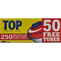 Top Full Flavor King Cigarette Tubes 250ct