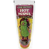 Van Holten's Hot Mama Pouch Pickle 12ct