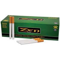 Zen Cigarette Tubes Menthol 200ct Box