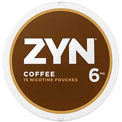 ZYN Nicotine Pouches Coffee 6mg 5ct