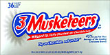 Three Musketeers 36CT Box