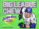 Big League Chew Swingin Sour Apple 12ct Box