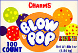 Charms Blow Pop Assorted 100CT