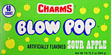 Charms Blow Pop Sour Apple 48CT