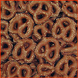 Chocolate Covered Pretzels 1 lbs.