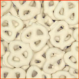White Chocolate Covered Pretzels 1 lbs.