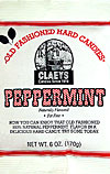 Claeys Old Fashioned Natural Peppermint Barrels 6oz