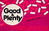 Good and Plenty Licorice Candy 24CT Box