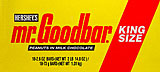 Mr. Goodbar King Size 18CT Box