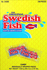 Swedish Fish Red 240CT Box