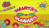 Smarties Sweet and Sour Gummies 24 CT