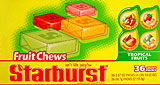 Starburst Tropical Fruit Chews 36CT Box