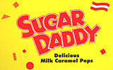 Sugar Daddy Milk Caramel Pops 24CT Box