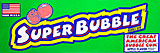 Super Bubble Apple Flavor Bubble Gum 180ct.