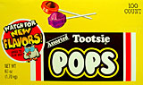 Tootsie Pops Assorted 100CT Box