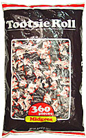 TOOTSIE ROLL MIDGEES 360CT BAG