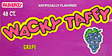 Alberts Wacky Taffy Grape 48ct.