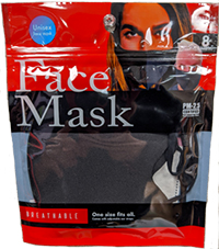 Face Mask PM 2.5 Certified