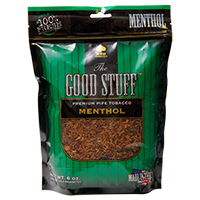 Good Stuff Menthol Pipe Tobacco 6oz
