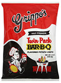 Grippos BBQ Twin Packs (6 8oz Bags)