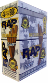 Rap Cigarillos Zero 4 $0.99 15ct Box