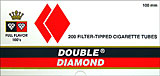Double Diamond Cigarette Tubes Red 100 200ct