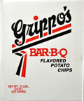 Grippos BBQ Potato Chips 1.5lb Box