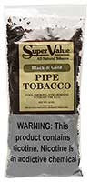Super Value Black and Gold Pipe Tobacco 12oz Bag