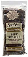 Super Value Bourbon Whiskey Pipe Tobacco 12oz Bag