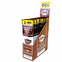 Swisher Sweets Cigarillos Chocolate 30ct