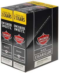 Swisher Sweets Cigarillos Black 30ct