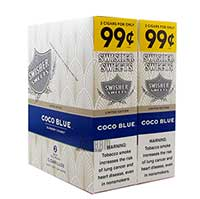 Swisher Sweets Cigarillos Coco Blue 30ct