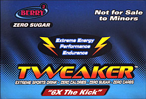 Tweaker Berry 6X The Kick 12 2FL oz Bottles
