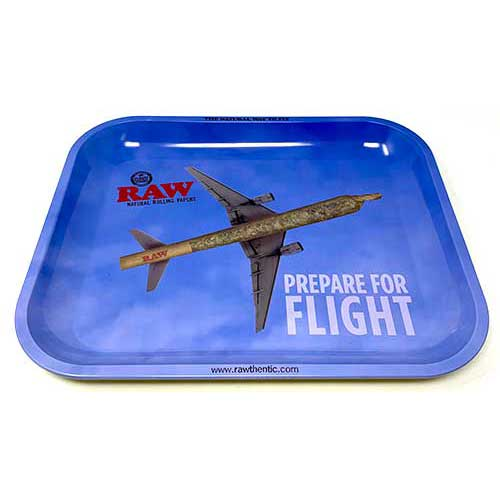 Raw Prepare For Flight Rolling Tray