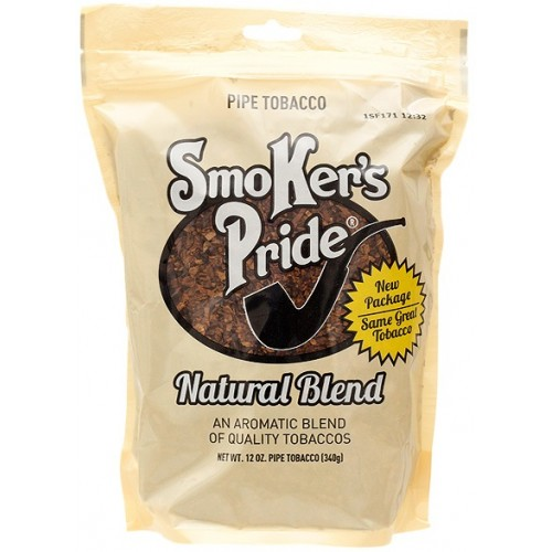 Smokers Pride Natural Blend 12oz Pipe Tobacco
